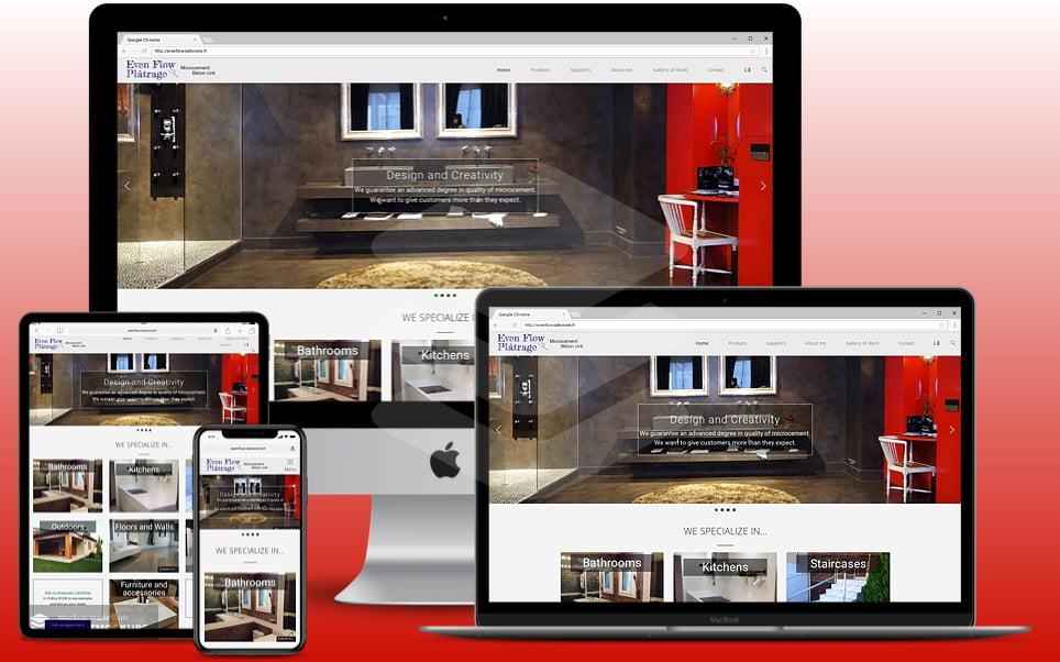 Pat Bell Websites - Perth Portfolio